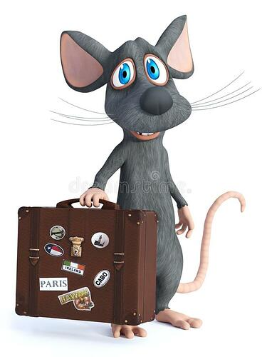 d-rendering-cartoon-mouse-holding-travel-suitcase-cute-smiling-seems-ready-to-white-background-138420007
