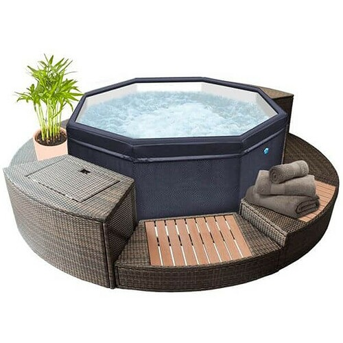 portable-spa-netspa-octopus-4-to-6-places-with-5-pieces-of-furniture