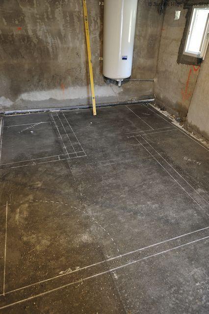 How To Polish A Concrete Floor Diy, Best Way To Cut Concrete Basement Floor